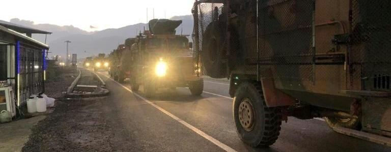 Ankara sends reinforcements into northern parts of Syria