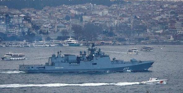 ISIS terrorists are planning to attack Russian warships in Turkey's waters