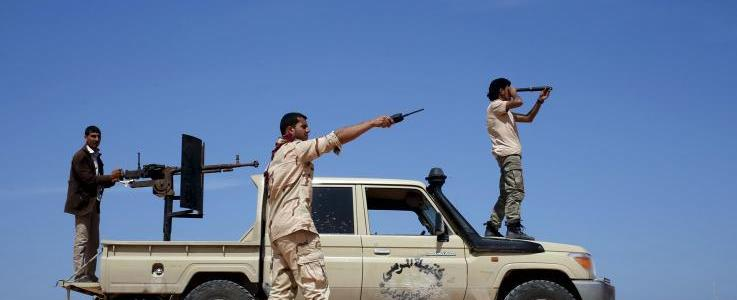 ISIS terrorists stop 'safari' in North Africa