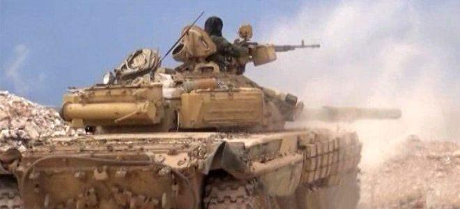 ISIS tunnel and vehicles destroyed in Hama and Deir Ezzor by the Syrian army