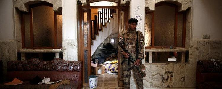 Islamic State jails are hidden among ordinary villas in Mosul