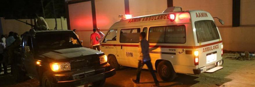 Suicide bombing, gunfire and hostage-taking rock Mogadishu restaurant