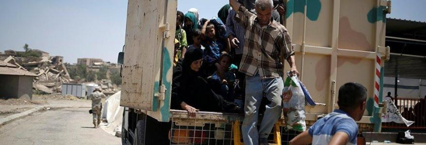 The road to freedom: 60,000 families escape ISIS captivity in Mosul