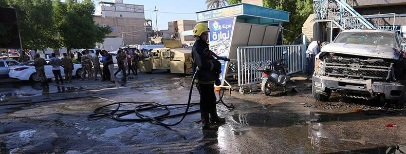 Twin ISIS suicide bombings kill at least 30 people, injure up to 40 in Iraq