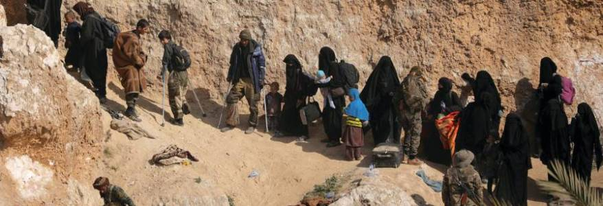 At least 9000 ISIS terrorists and 60000 family members held in Syria