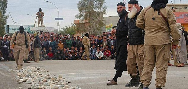 Four women are raped by ISIS terrorists and then stoned to death in Mosul