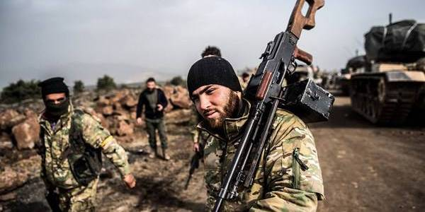 Hundreds of Turkey-backed terrorists join ISIS in the northern parts of Syria