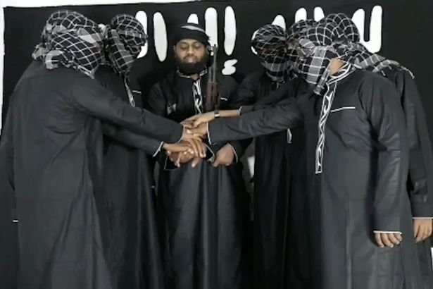 LLL - GFATF - ISIS release picture of Sri Lanka bombings mastermind and seven attackers 1