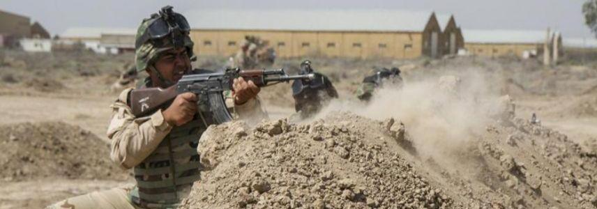 Iraqi military forces killed suicide bomber and arrested member of the ISIS police in Anbar