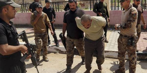 Iraqi security forces arrested seven Islamic State terrorists in Nineveh