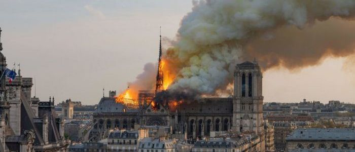 Islamic State propaganda group celebrates Notre Dame fire
