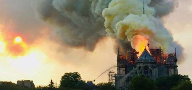 Islamic State threat: Notre-Dame fire was Allah's retribution and punishment