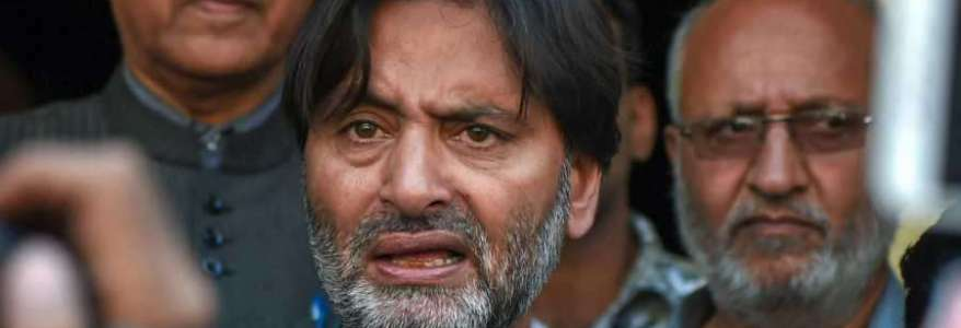 Jammu and Kashmir Liberation Front chief Yasin Malik arrested by the NIA in terror funding case