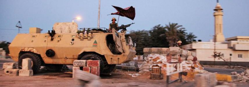 Suicide bombing attack killed seven people in Egypt's North Sinai