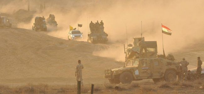 Iraqi army forces kill three Islamic State suicide bombers in Salahuddin