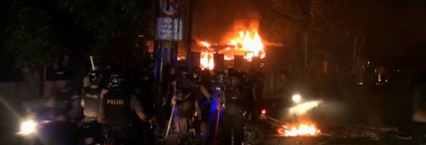 Islamic State militants involved in Jakarta riots