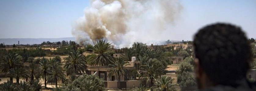 Libyans link ISIS leader's surprise appearance to Tripoli battle