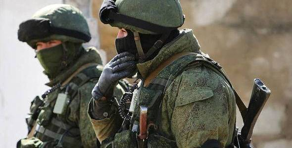 Russian special forces in action against Islamic State terrorists in eastern Syria