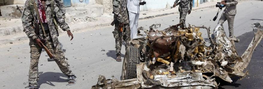 Somalia car bomb near the Presidential Palace kills four people
