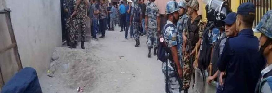Bombs planted at various locations in Nepal