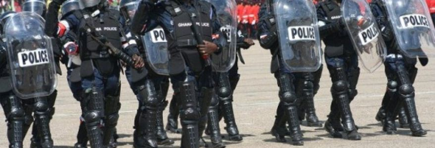 Ghanian Police prepares 125 officers for possible terrorist threats