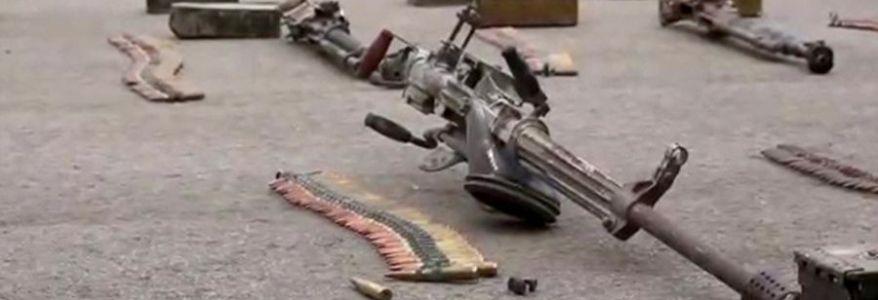 British soldiers seized Islamic State gun stash in Mali