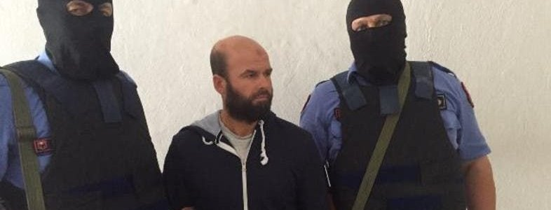 Albanian police authorities arrested Russian Islamic State fighter