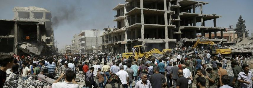 At least 11 people are wounded as car bomb hits Qamishli in northeast Syria