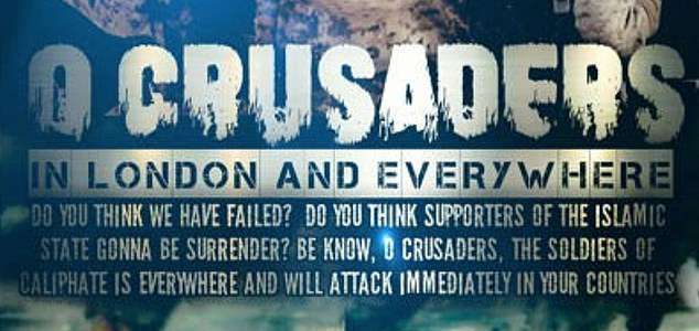 ISIS supporters threaten fresh attacks on the West in chilling propaganda poster