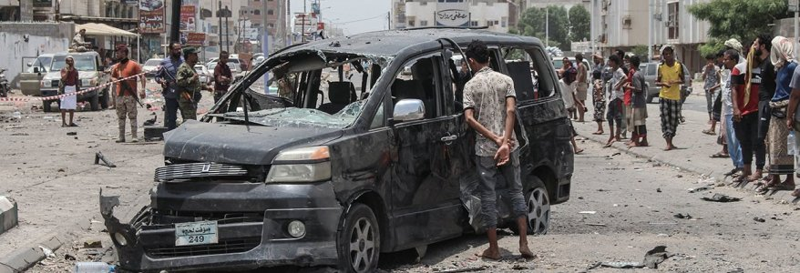 Terrorist Attacks in Southern Yemen Complicate Civil War Peace Process