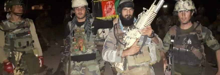 Afghan Special Forces arrested Islamic State terrorists in Paghman district of Kabul