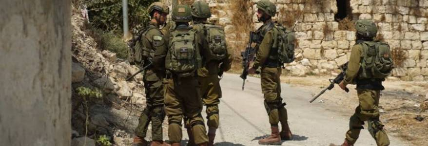 Israeli Defence Forces arrested three Palestinians in manhunt for bomb attack perpetrators