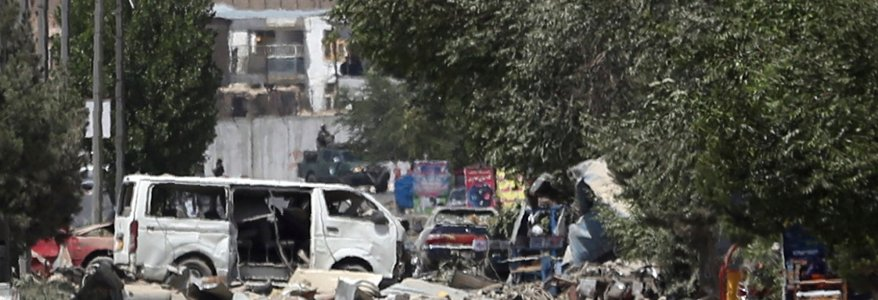 The total of the Taliban car bomb is 14 people killed and 145 wounded