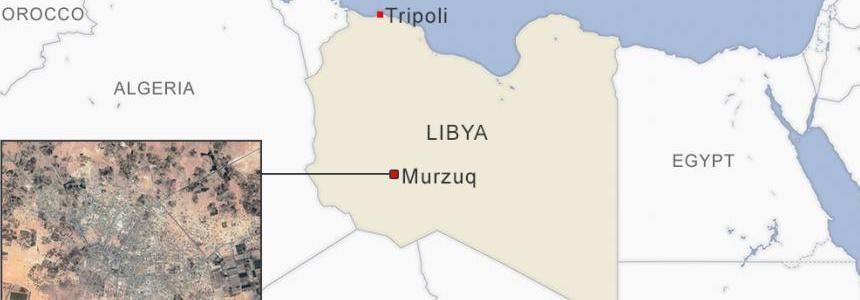 The U.S. carried out an airstrike against the Islamic State group in Libya