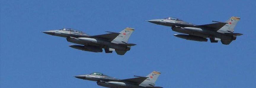 Turkish jets neutralize 3 terrorists in northern Iraq