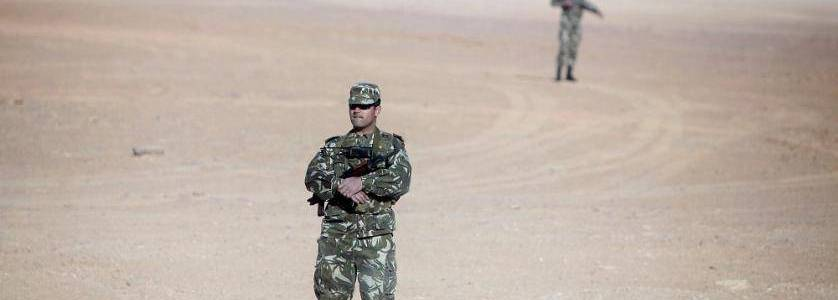 Algerian authorities seize terrorist weapons and destroyed explosives workshops