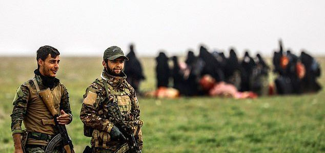 ISIS terrorists preparing to free its loyal fighters from huge prison camps