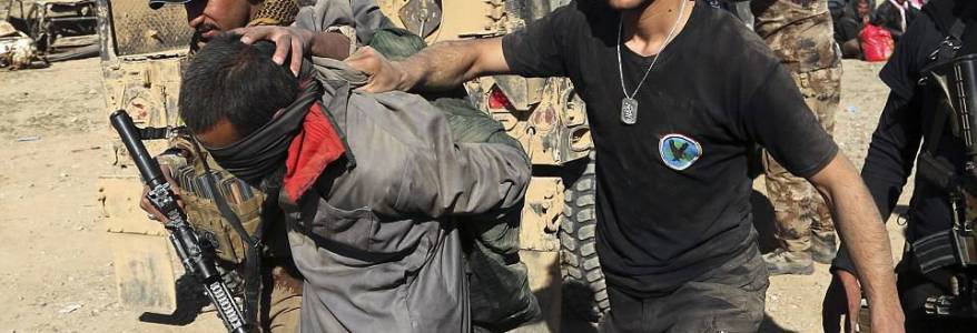 Islamic State terrorist captured in Mosul