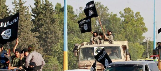 Islamic State terrorist group claims the attack on a Syrian security officer