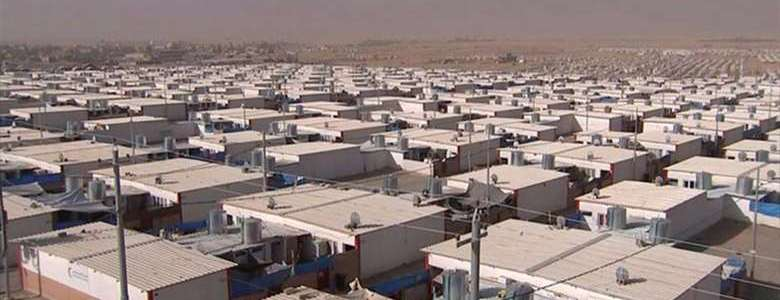 The security in Erbil arrested Islamic State member in refugee camp