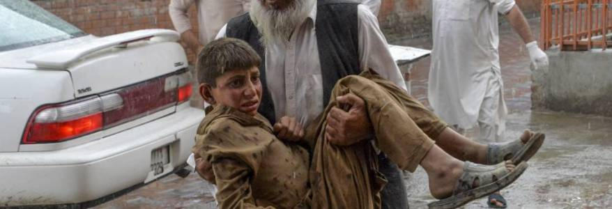 At least 62 people are dead and more than 100 people are wounded in multiple blasts at a mosque in Afghanistan