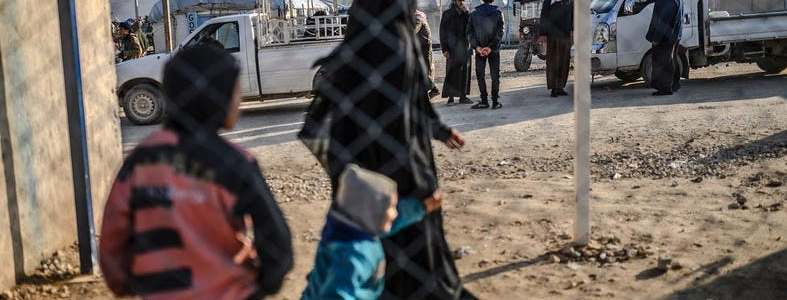 French women from Syrian camp retrieved by the Islamic State terrorists