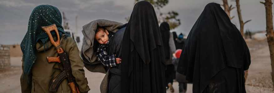 Islamic State foreign women smuggled out in Northeastern Syria camp