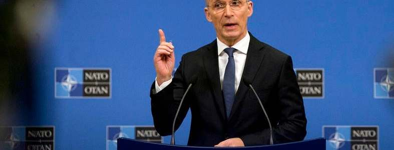 NATO chief says that the allies must stay united against the Islamic State