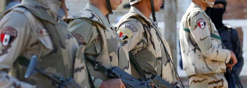 Egyptian authorities sentence Libyan terrorist to death for killing eleven policemen