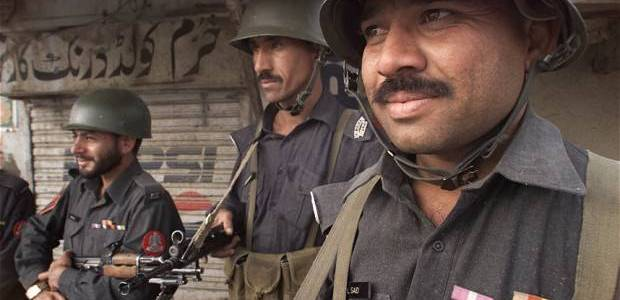 Pakistani authorities arrested two terrorism suspects with arms