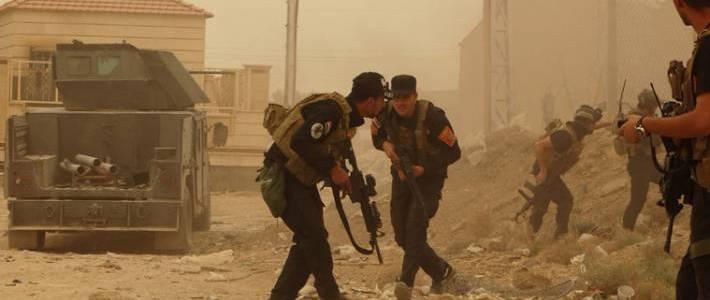Islamic State terrorists attack Iraqi police convoy in Kirkuk