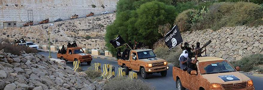 Libya is the new focus of the Islamic State terrorists