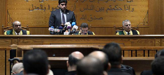 Egyptian authorities sentenced dozens to life imprisonment for joining Islamic State affiliate