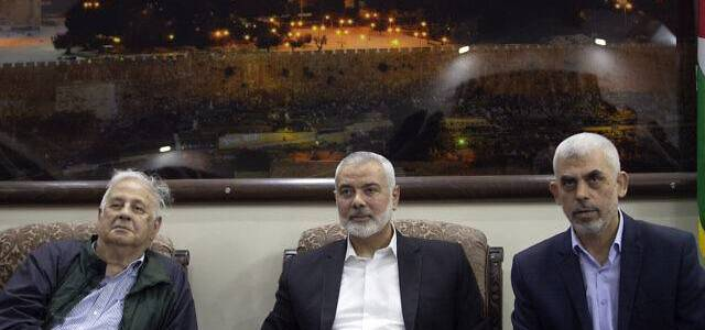 Hamas will join Palestinian leadership meeting against the Trump plan for the Middle East